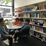 High school students take a break at Ozford Melbourne